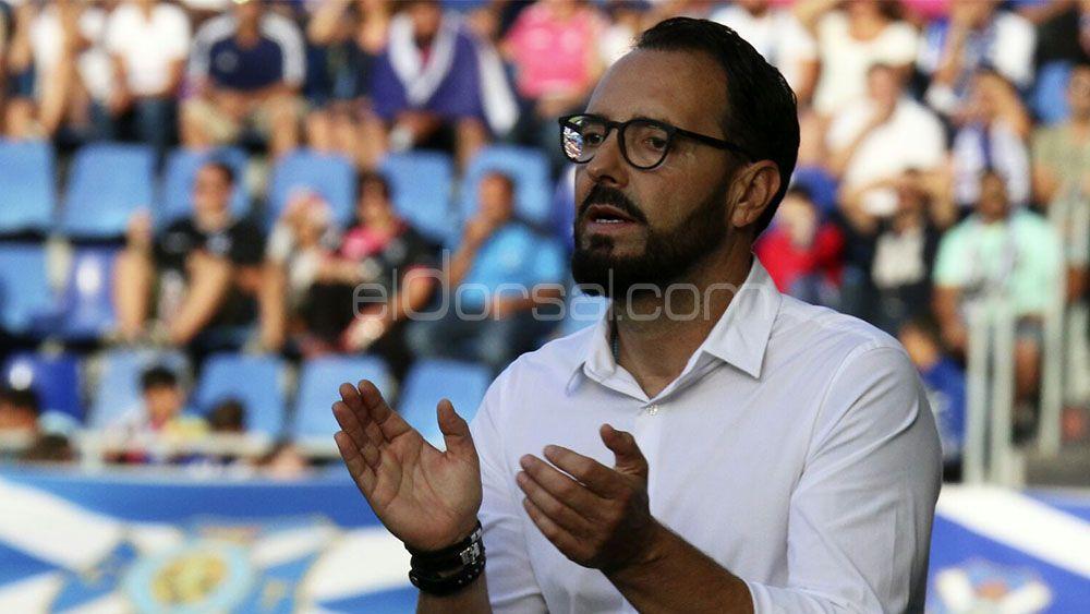 Bordalás no gana al CD Tenerife desde 2011