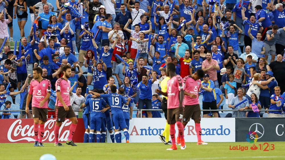 El CD Tenerife ve frustrado el sueño del ascenso en Getafe en una final no apta para cardíacos