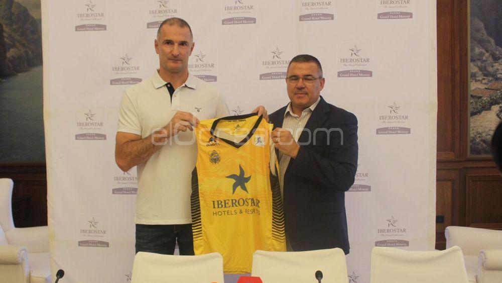 """Markovic: """"El listón está muy alto, pero sé que el Iberostar Tenerife seguirá siendo competitivo"""""""