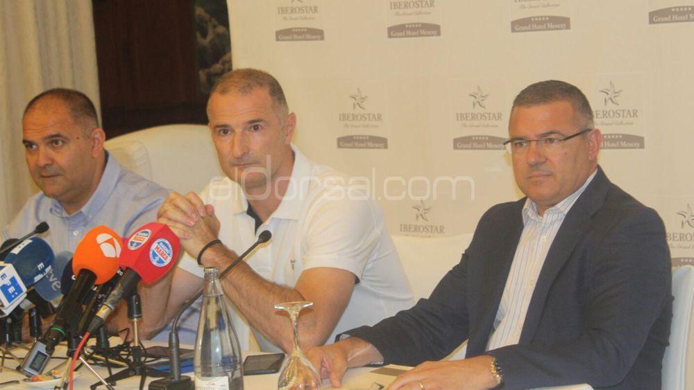 Nenad Markovic, contento con la llegada de Adin Vrabac