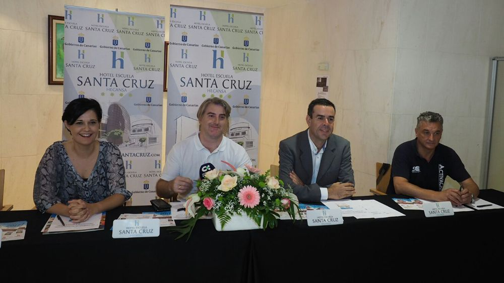 Presentación del 18º Campus Élite SC Arona 2017