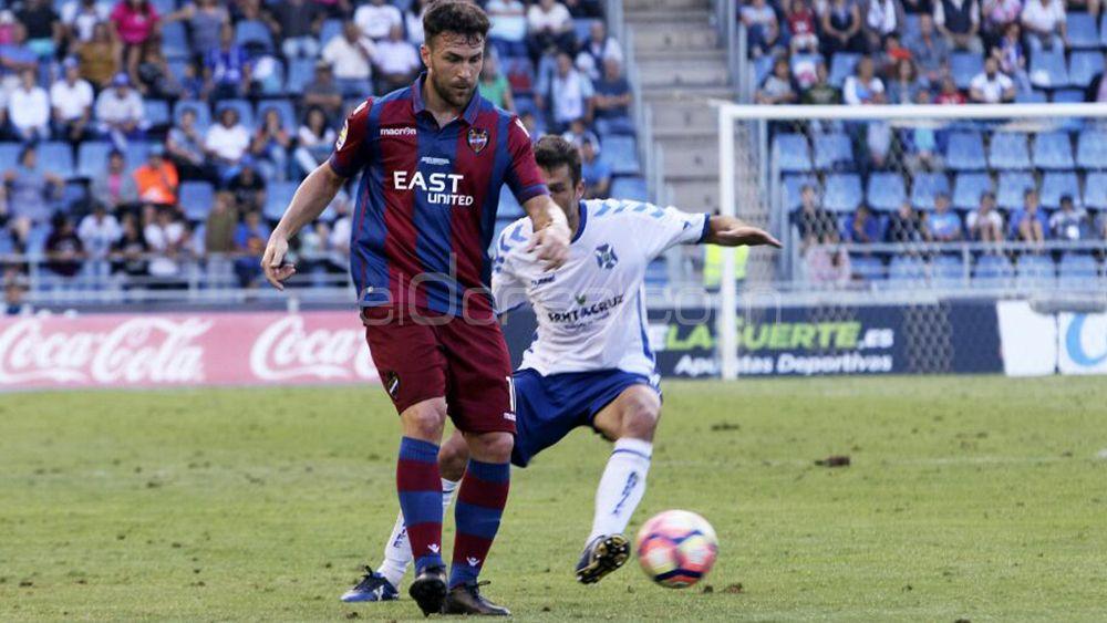 """Víctor Casadesús: """"Voy a darlo todo para que el Tenerife esté lo más arriba posible"""""""
