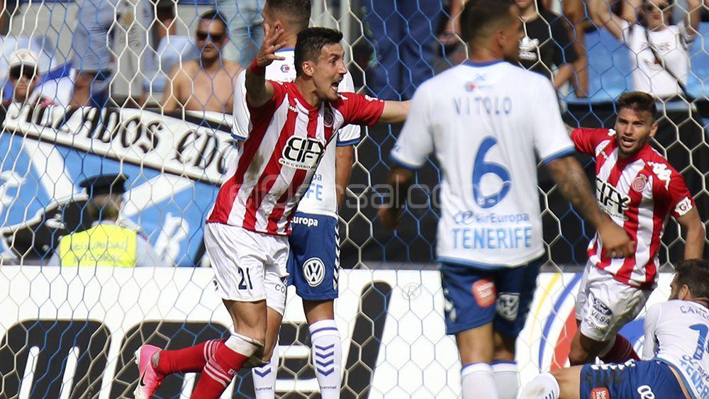 Fran Sandaza, opción para la delantera del CD Tenerife