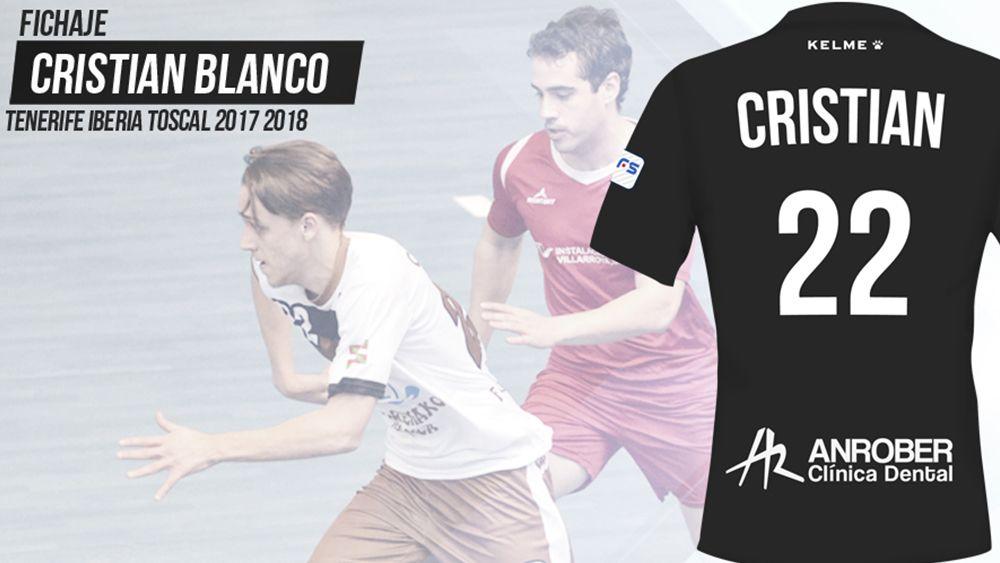 Cristian Blanco se incorpora al Tenerife Iberia Toscal