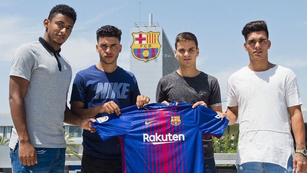 Choco Lozano ya es jugador del FC Barcelona