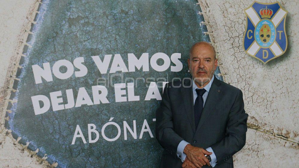 'Nos vamos a dejar el alma', Campaña de Abonos del CD Tenerife