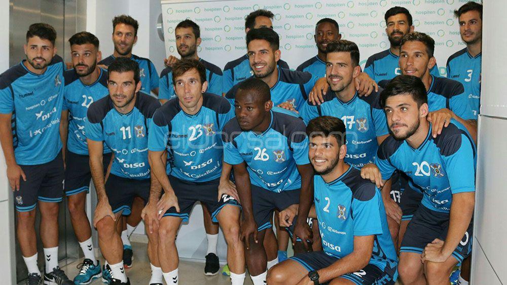 El CD Tenerife 17-18 comienza con siete jugadores del filial