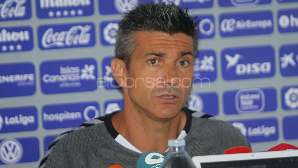 """Martí: """"La presión es solo mía, sé que el CD Tenerife debe mejorar lo del año pasado"""""""