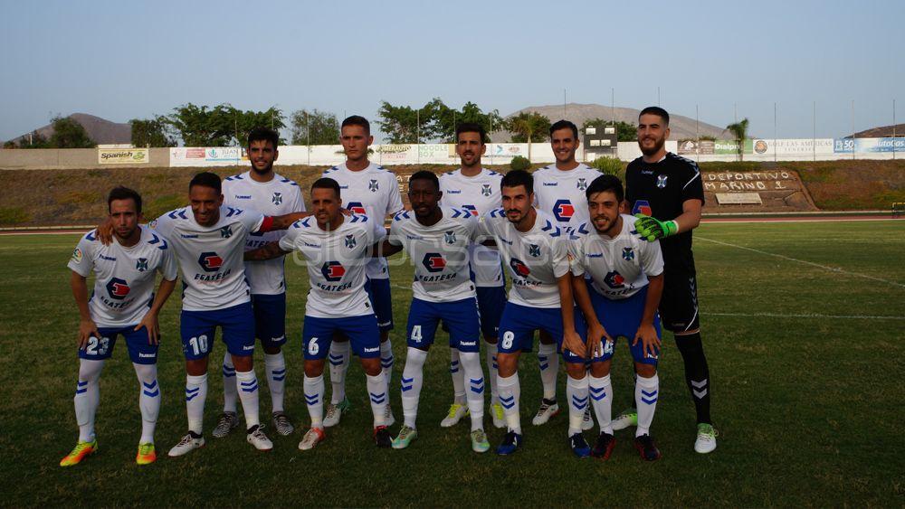 El CD Tenerife estrena equipación en su primer amistoso de pretemporada