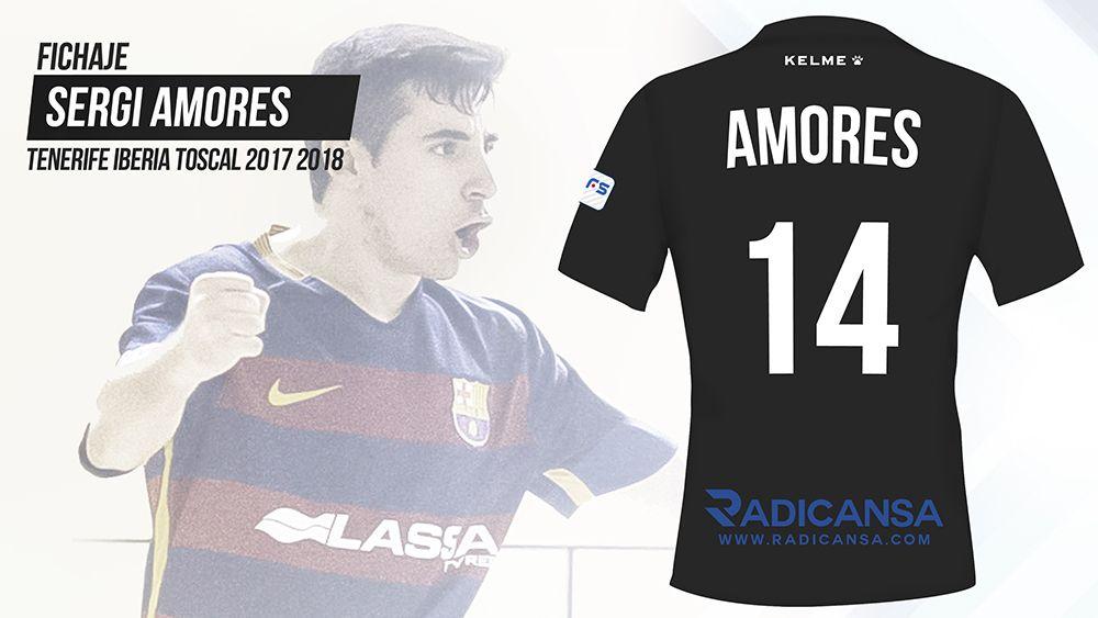 Sergi Amores, otro jugador del Barça B para el Tenerife Iberia Toscal