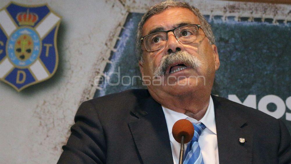 Pedro Rodríguez Zaragoza dejará de ser director general del CD Tenerife