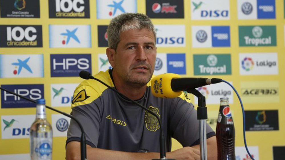 """Márquez: """"No hay necesidad de acabar con jugadores malparados ante el CD Tenerife"""""""