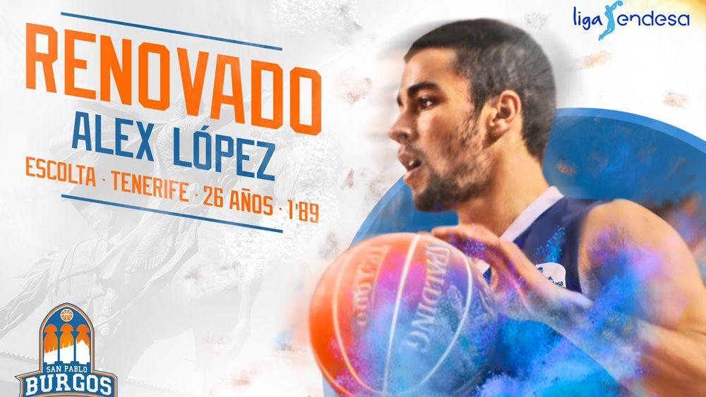 Álex López, único representante tinerfeño en la ACB 17-18