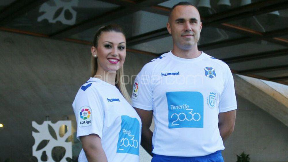 El CD Tenerife ingresará 450.000 euros por la publicidad de Tenerife 2030