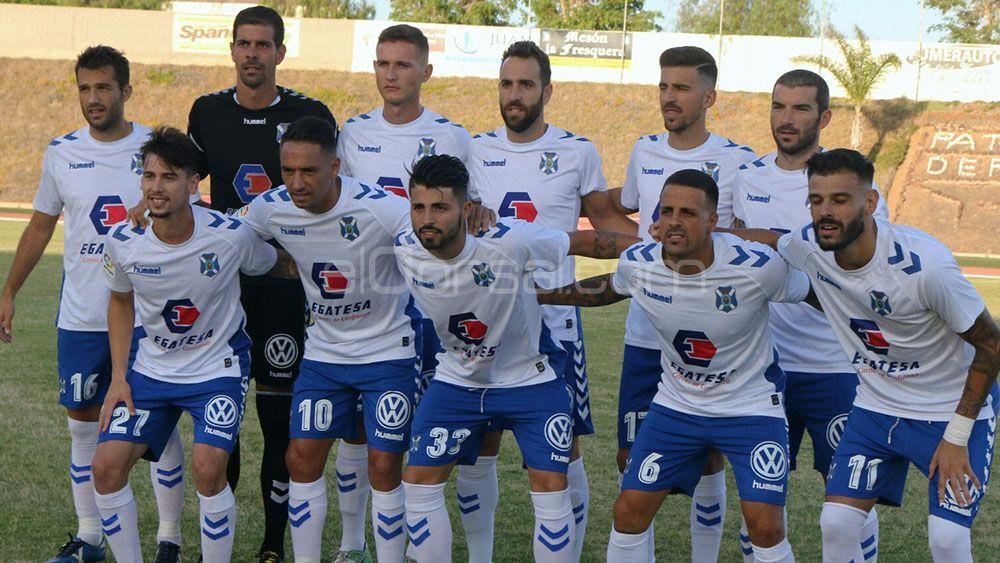 Asignados los dorsales de los jugadores del CD Tenerife