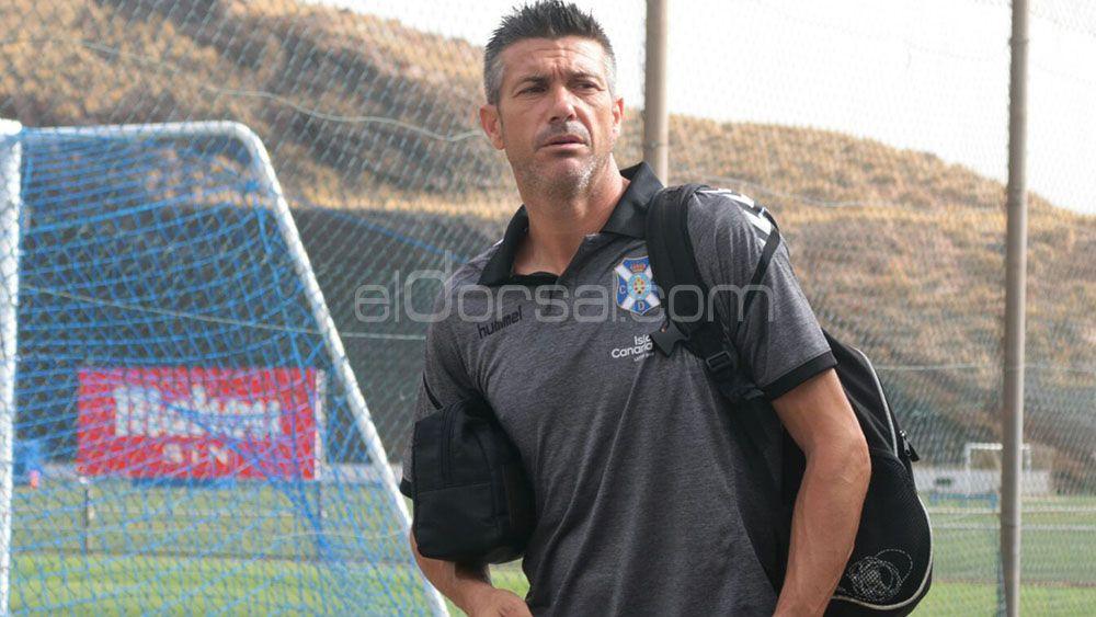 José Luis Martí deja de ser entrenador del CD Tenerife