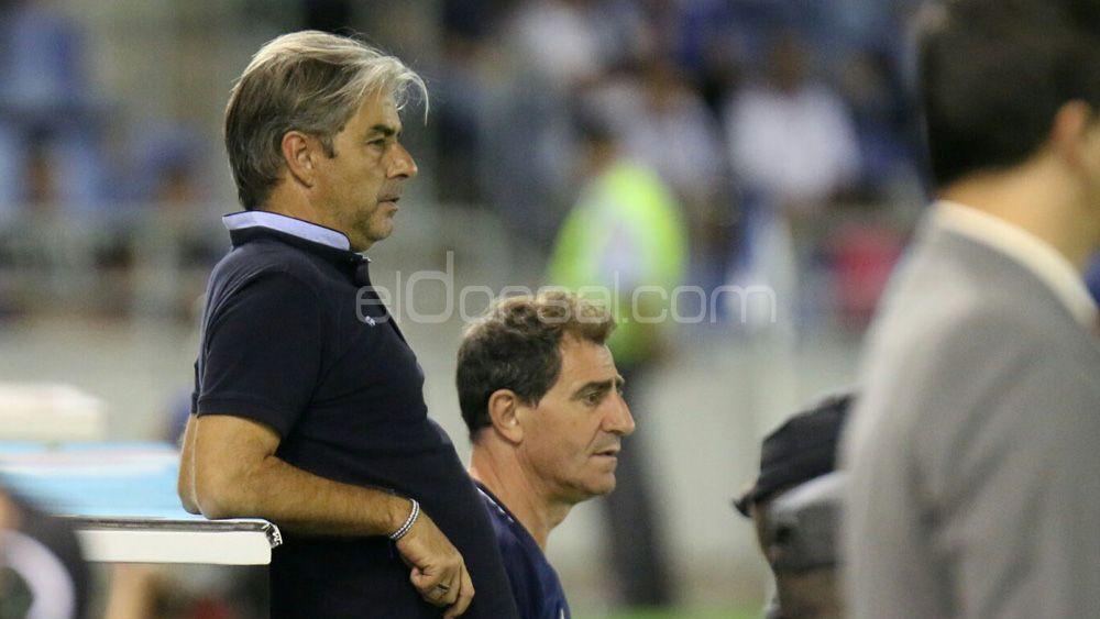 """Natxo González: """"Me voy disgustado por la derrota ante el CD Tenerife, pero hemos hecho cosas bien"""""""