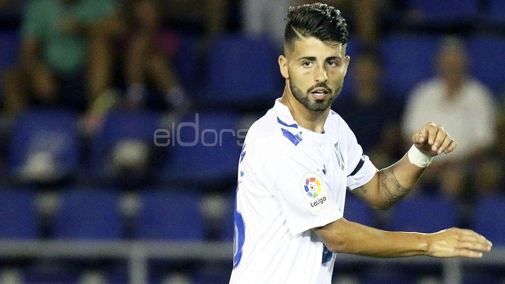 La afición del CD Tenerife quiere a Brian Martín en el once titular