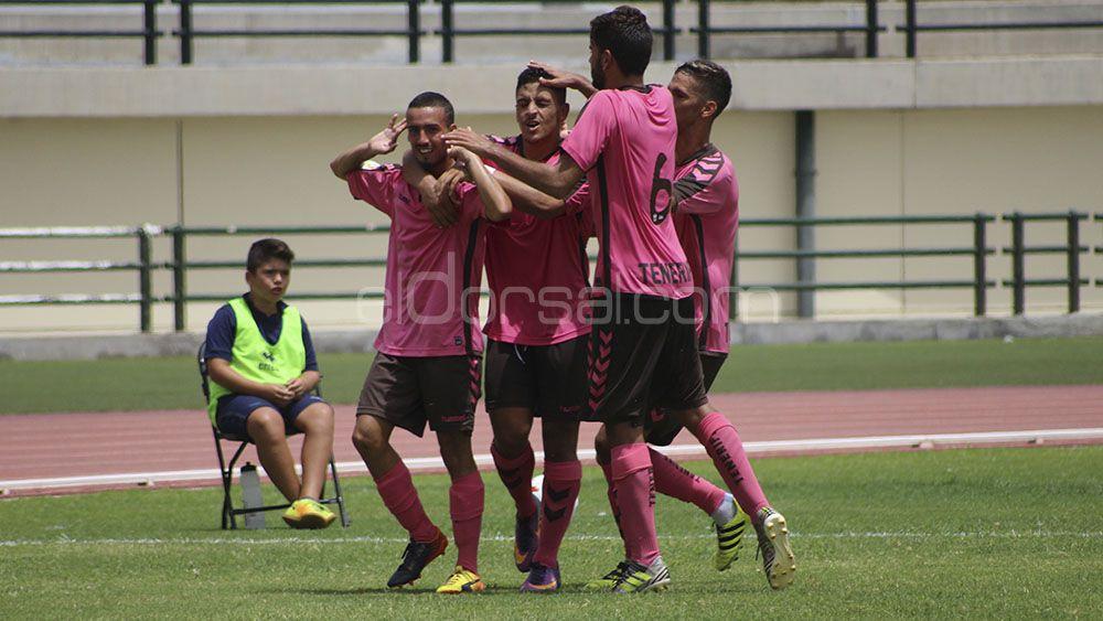 El gran momento de Giovanni le ha valido al CD Tenerife B para ganar al CD Marino