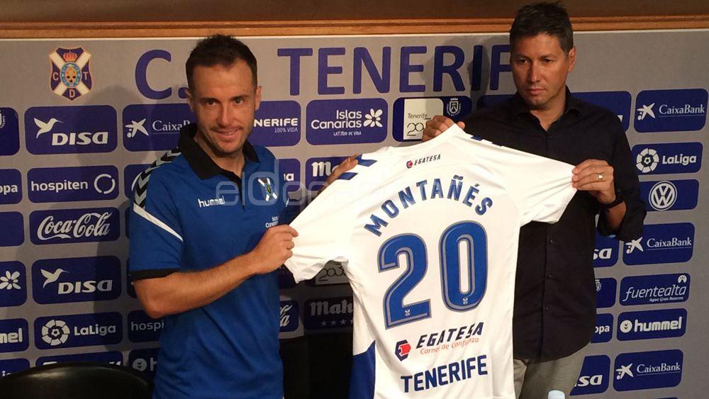 """Montañés: """"El CD Tenerife merece estar en Primera División"""""""