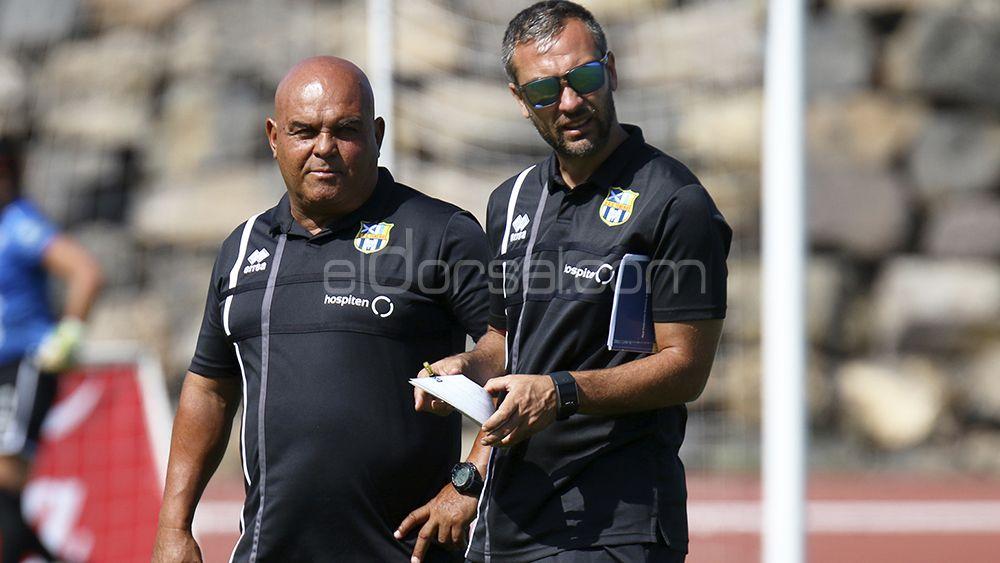 La UDG Tenerife intensifica sus entrenamientos a dos semanas del comienzo liguero