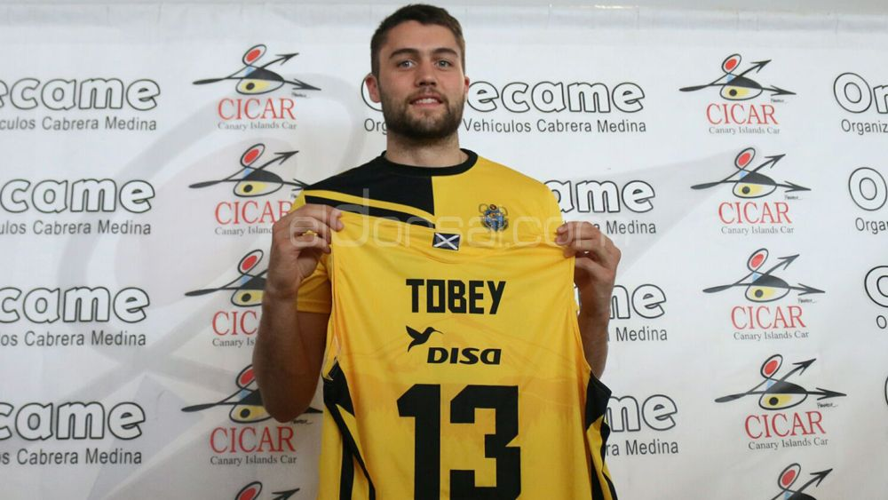 """Tobey: """"Quería seguir jugando en España y mi mejor opción era el Iberostar Tenerife"""""""
