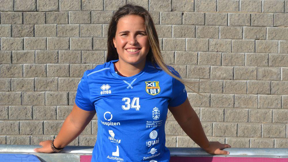 Alexandra Sánchez Falcón, nueva jugadora de la UDG Tenerife B