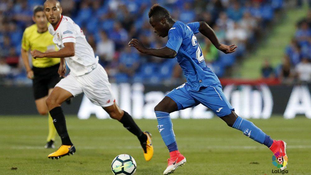 El Getafe CF cae en su vuelta a Primera División como local