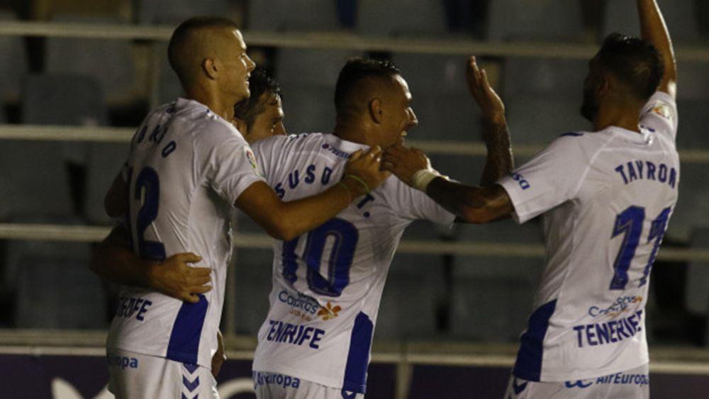 El CD Tenerife vuelve al liderato de Segunda División ocho años después