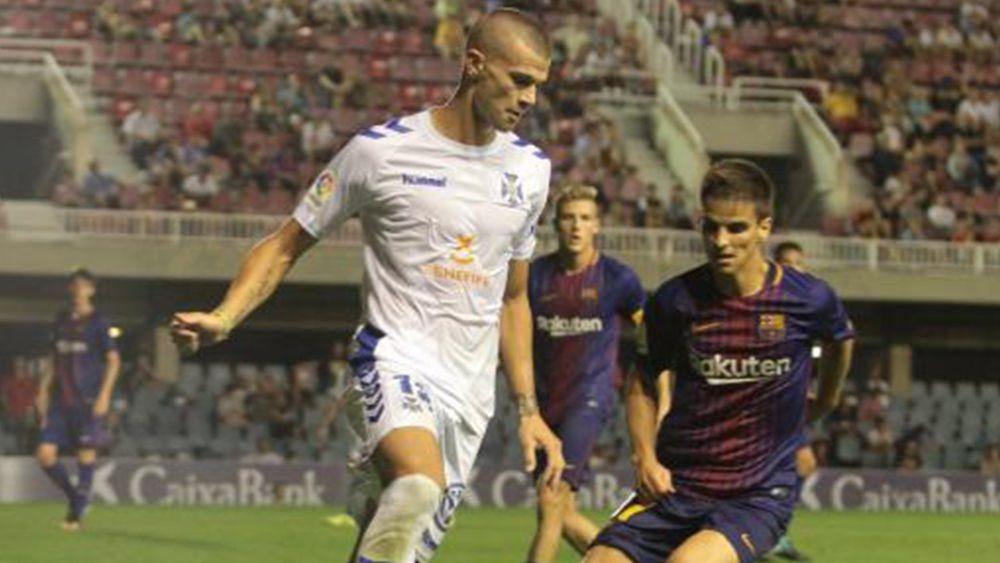 Goleada del CD Tenerife para ponerse líder