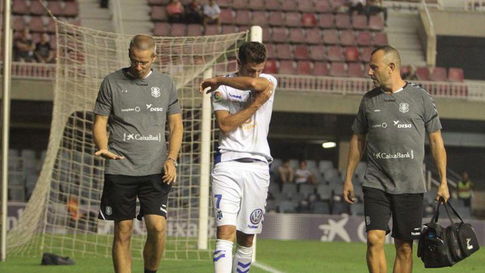 Juan Villar, baja para las cuatro próximas citas del CD Tenerife