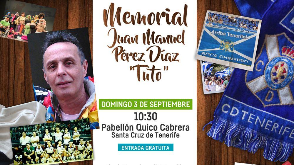 """Este domingo se celebra el I Memorial Juan Manuel Pérez Díaz """"Tuto"""""""