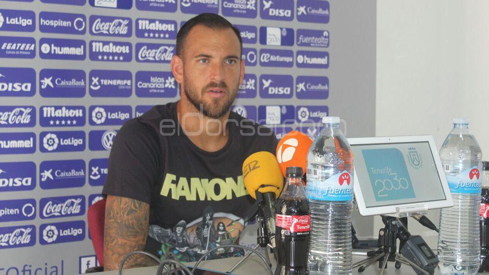 """Aveldaño: """"Los primeros pasos del CD Tenerife hacia el objetivo son firmes"""""""