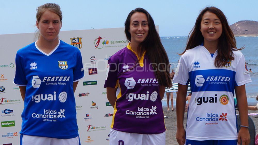 La UDG Tenerife presenta sus equipaciones 17-18