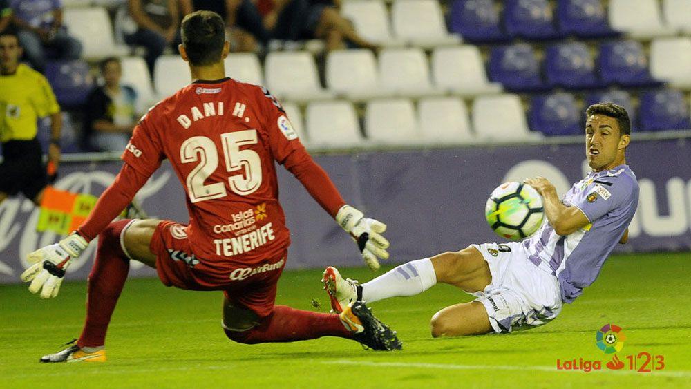 El uno por uno, de los jugadores del CD Tenerife frente al Real Valladolid