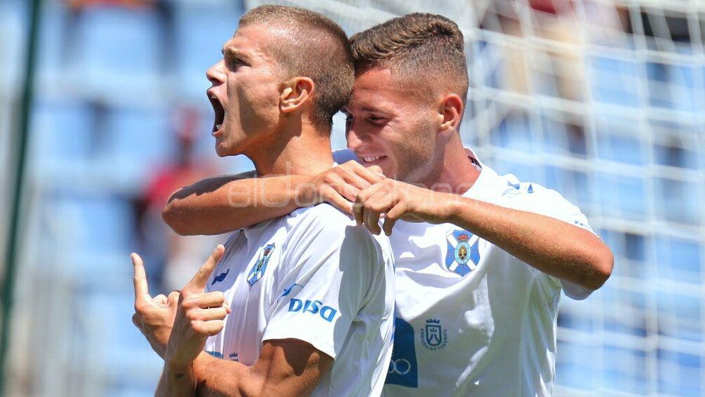 Los goles de Longo y Malbasic para el empate del CD Tenerife