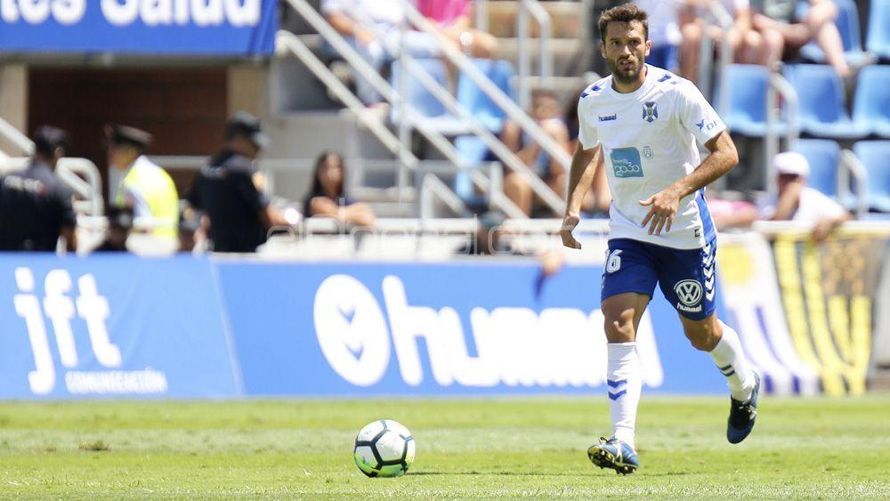 Aitor Sanz quiere volver a ser importante en el CD Tenerife