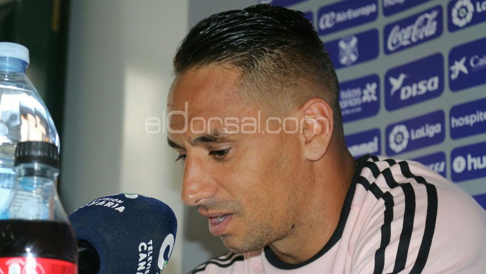 La mañana más difícil del capitán del CD Tenerife, Suso Santana