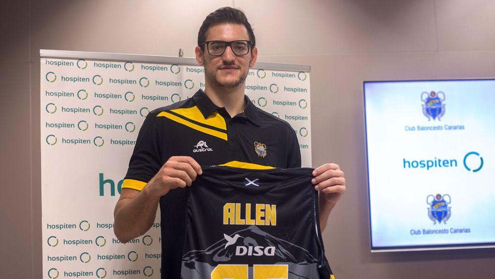 """Rosco Allen: """"Es un gran paso en mi carrera haber fichado por el Iberostar Tenerife"""""""