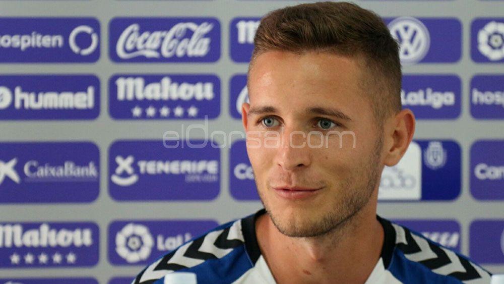 Jorge Sáenz explica la jugada del gol en propia puerta en el CD Tenerife – Granada CF