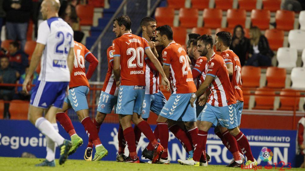 Iriome le da el triunfo al CD Lugo ante el CD Zaragoza en el último suspiro