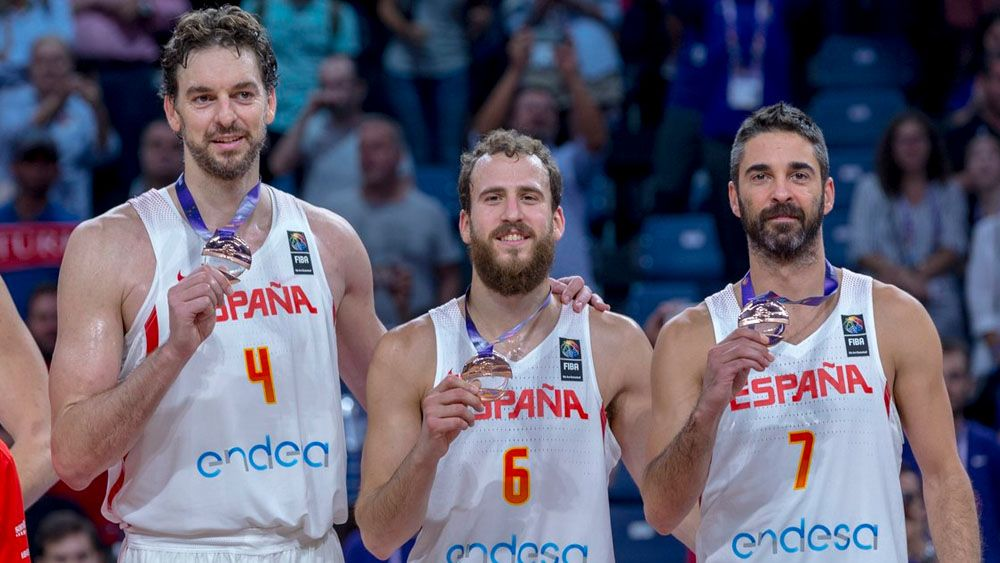 Sergio Rodríguez consigue su séptima medalla con España