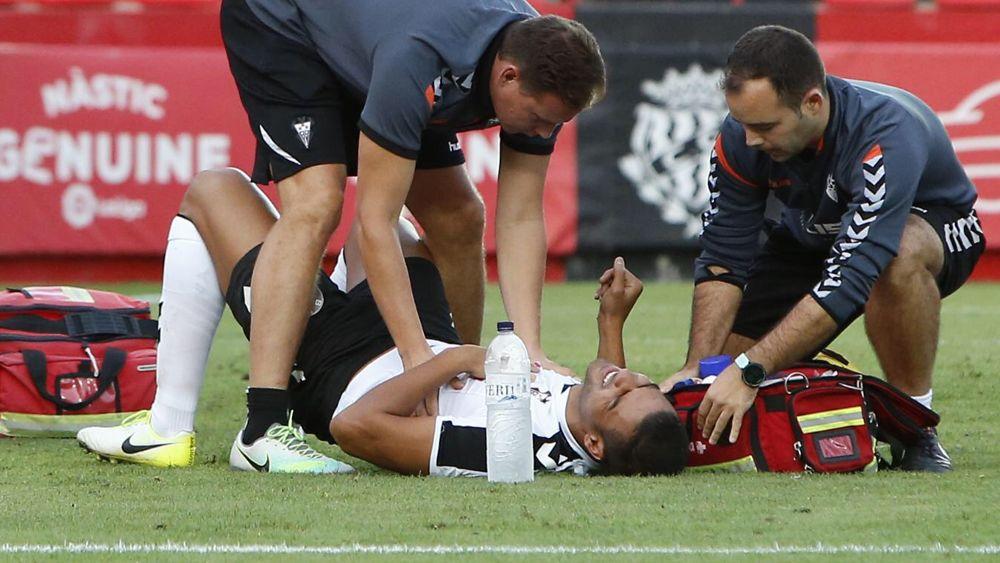 El ex del CD Tenerife Aridane, hospitalizado tras el Nàstic – Albacete