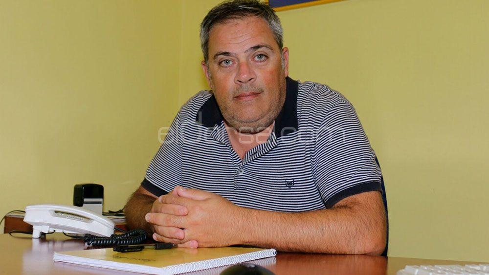 """Hugo Mozajko: """"El CV Aguere lleva unos años complicados y estamos intentando darle la vuelta a la situación"""""""