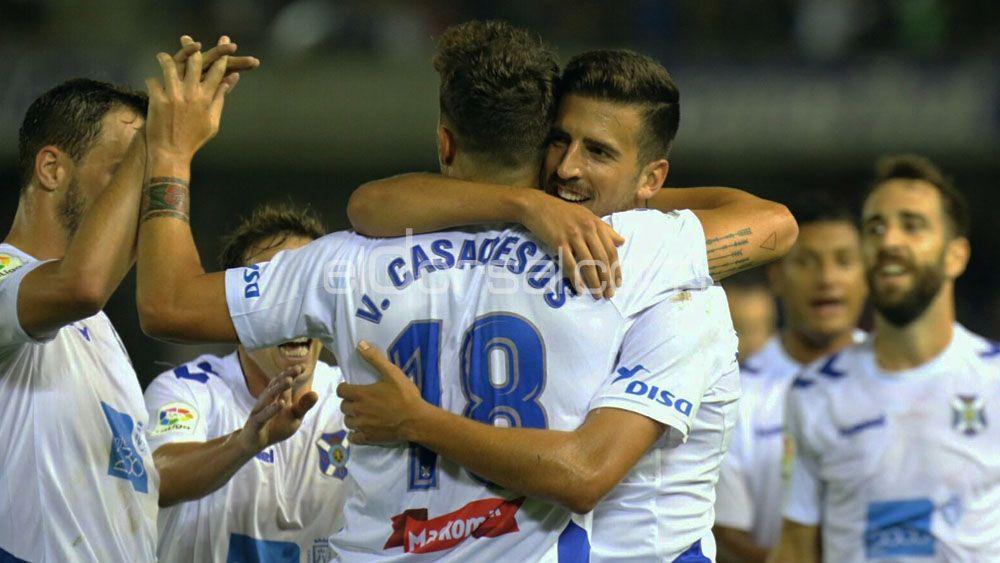Uno, dos, tres y cuatro goles del CD Tenerife frente a la AD Alcorcón