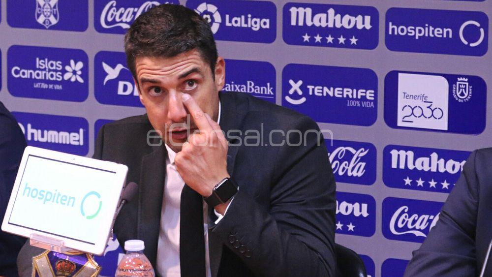 """Velázquez: """"El CD Tenerife es merecedor de los tres puntos, aunque el resultado es demasiado abultado"""""""