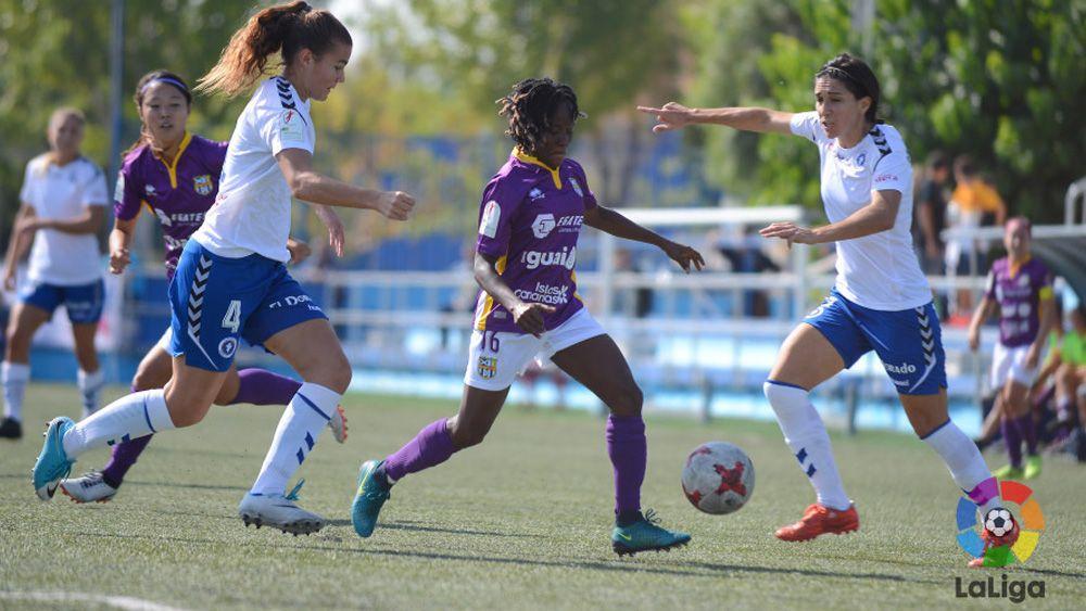 La UDG Tenerife perdona al Zaragoza CFF y continúa sin conocer la victoria