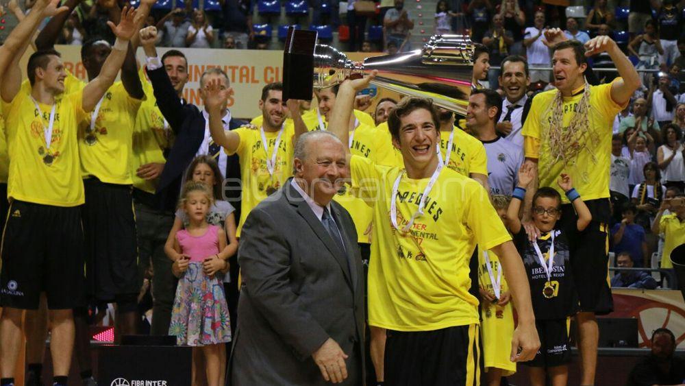 """Richotti: """"Es una alegría muy grande seguir haciendo historia con el Iberostar Tenerife"""""""