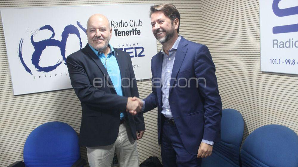 """Carlos Alonso: """"Hay que mejorar los baños del Heliodoro y también la Ciudad Deportiva"""""""