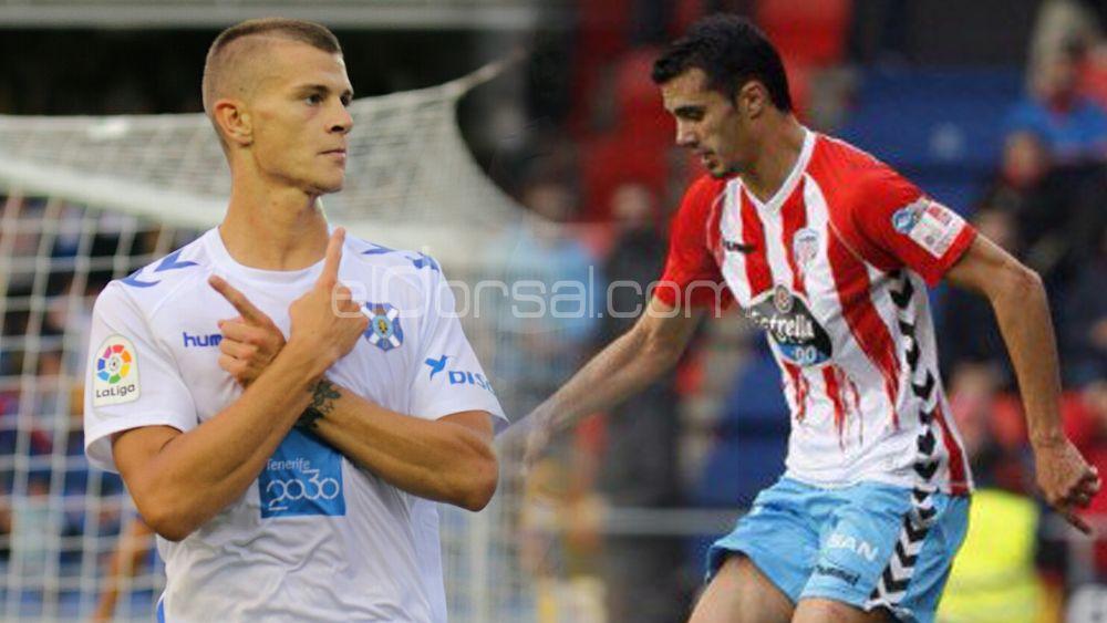 Duelo de goleadores en el CD Lugo – CD Tenerife del Anxo Carro